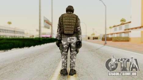 Black Mesa - HECU Marine Medic v1 para GTA San Andreas terceira tela