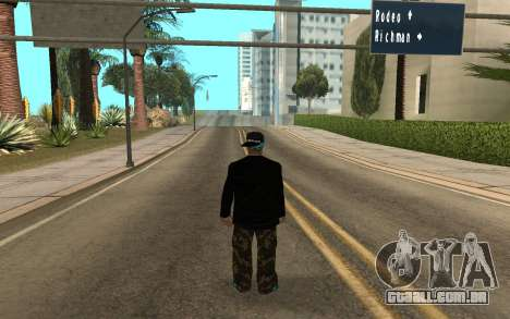 Varios Los Aztecas Gang Member v5 para GTA San Andreas segunda tela