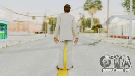 Scarface Tony Montana Suit v4 para GTA San Andreas terceira tela