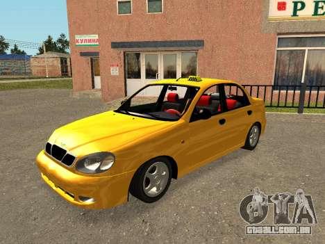 Daewoo Lanos (Sens) 2004 v1.0 by Greedy para o motor de GTA San Andreas