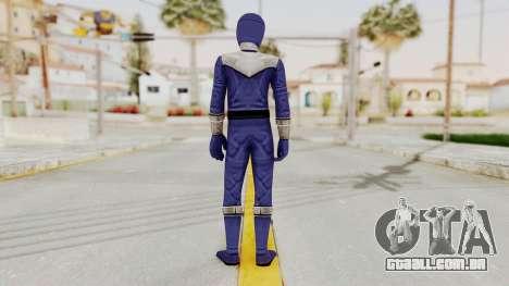 Power Rangers Time Force - Blue para GTA San Andreas terceira tela