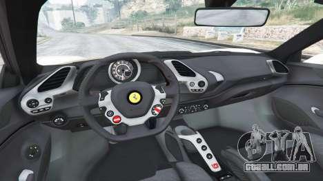 Ferrari 488 GTS para GTA 5
