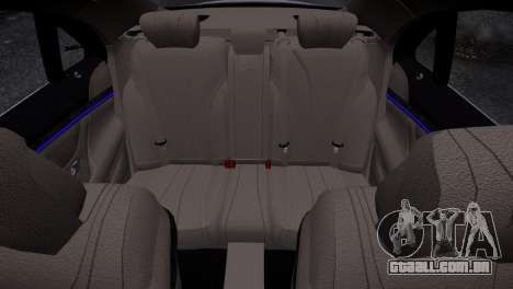 Mercedes-Benz w222 para GTA 4 vista interior