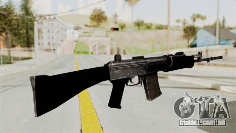 IOFB INSAS Plastic Black Skin para GTA San Andreas segunda tela