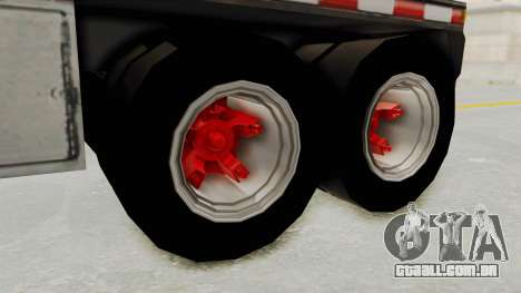 Trailer de Conbustible para GTA San Andreas vista direita