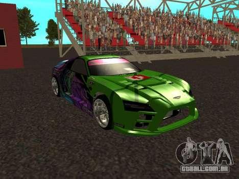 Toyota Supra Evil Empire para GTA San Andreas vista interior
