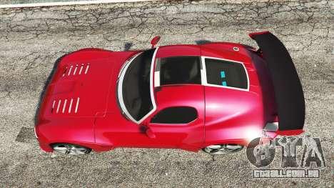 GTA 5 Devon GTX 2010 v0.1 voltar vista