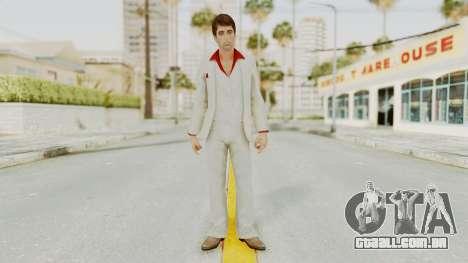 Scarface Tony Montana Suit v4 para GTA San Andreas segunda tela
