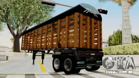 Trailer de Estacas para GTA San Andreas vista direita