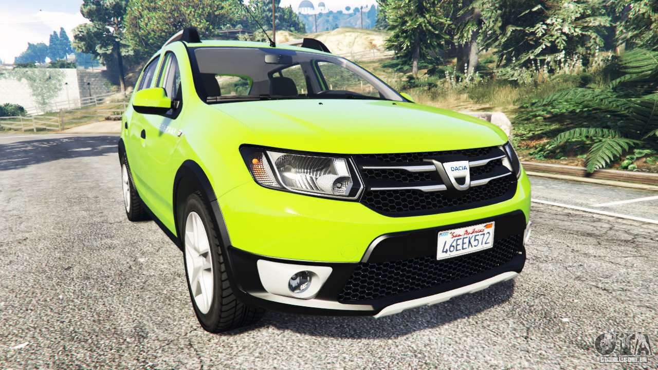 dacia sandero stepway 2014 para gta 5. Black Bedroom Furniture Sets. Home Design Ideas