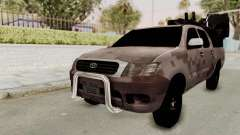 Toyota Hilux 2014 Army Libyan para GTA San Andreas