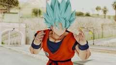 Dragon Ball Xenoverse Goku SSGGSS para GTA San Andreas