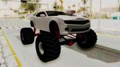Chevrolet Camaro SS 2010 Monster Truck para GTA San Andreas