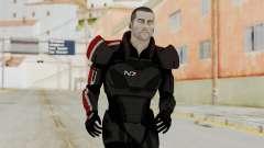 Mass Effect 2 Shepard Default N7 Armor No Helmet