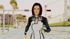 Mass Effect 3 Dr. Eva New Short Hair para GTA San Andreas