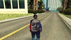 Grove Street Gang Member para GTA San Andreas