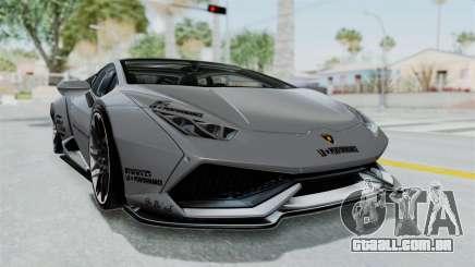 Lamborghini Huracan LP610-4 2015 Liberty Walk LB para GTA San Andreas