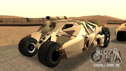 Army Tumbler Gun Tower from TDKR para GTA San Andreas