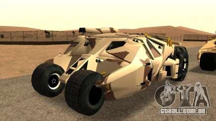 Army Tumbler Gun Tower from TDKR para GTA San Andreas