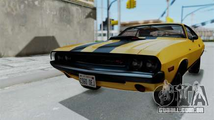 Dodge Challenger RT 440 1970 Six Pack para GTA San Andreas