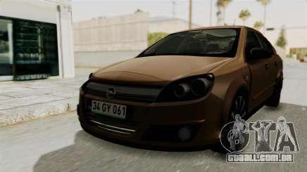 Opel Astra Sedan 2011 para GTA San Andreas