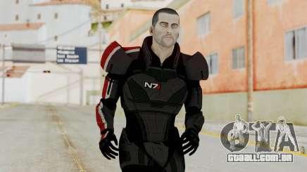 Mass Effect 2 Shepard Default N7 Armor No Helmet para GTA San Andreas