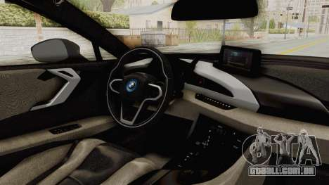 BMW i8-VS 2015 para GTA San Andreas vista interior