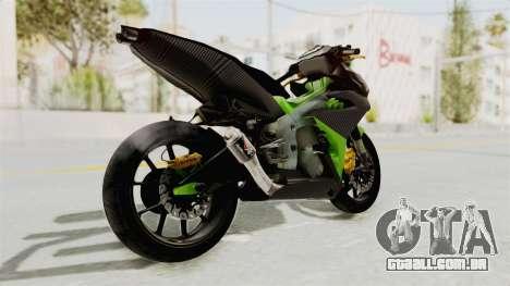 Yamaha MX King 150 Modif 250 GP para GTA San Andreas vista direita