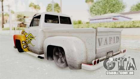 GTA 5 Slamvan Lowrider PJ1 para GTA San Andreas vista superior