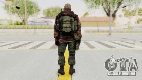 Battery Online Russian Soldier 10 v3 para GTA San Andreas terceira tela