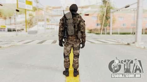 CoD MW3 Russian Military SMG v2 para GTA San Andreas terceira tela