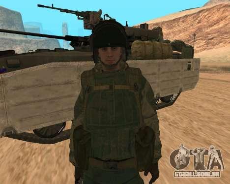 Forças especiais da Federação russa para GTA San Andreas terceira tela