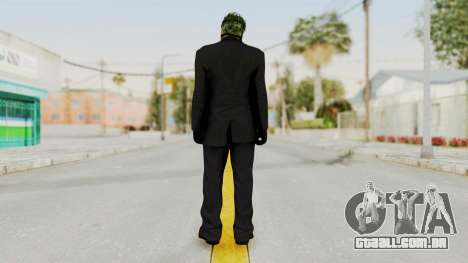 Joker Heist Outfit GTA 5 Style para GTA San Andreas terceira tela