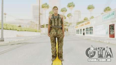 MGSV The Phantom Pain Soviet Union Tanktop v1 para GTA San Andreas segunda tela