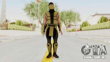 Mortal Kombat X Klassic Scorpion para GTA San Andreas segunda tela