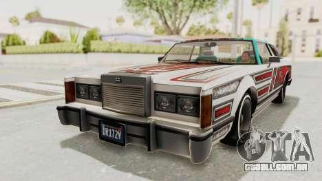 GTA 5 Dundreary Virgo Classic Custom v3 para GTA San Andreas vista superior