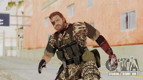 MGSV The Phantom Pain Venom Snake Animals para GTA San Andreas