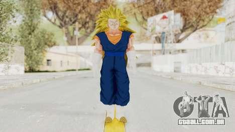 Dragon Ball Xenoverse Vegito SSJ3 para GTA San Andreas segunda tela