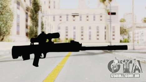 QBU-88 para GTA San Andreas segunda tela