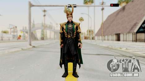 Marvel Future Fight - Loki para GTA San Andreas segunda tela
