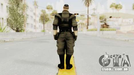 Russian Solider 2 from Freedom Fighters para GTA San Andreas terceira tela