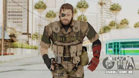 MGSV The Phantom Pain Venom Snake Wetwork para GTA San Andreas