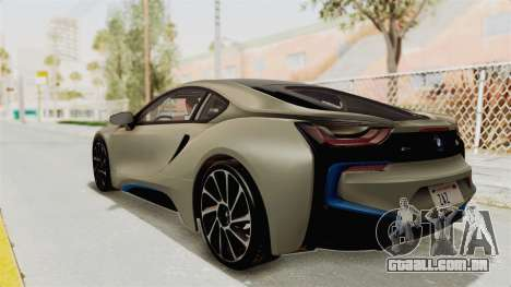 BMW i8-VS 2015 para GTA San Andreas esquerda vista