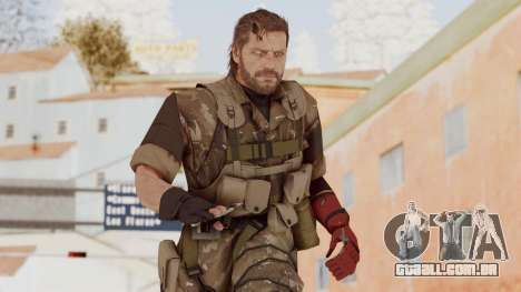 MGSV The Phantom Pain Venom Snake No Eyepatch v9 para GTA San Andreas