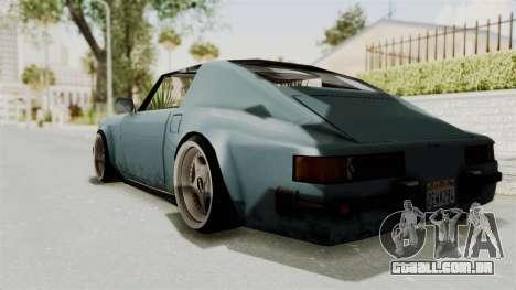 Comet 911 GermanStyle para GTA San Andreas esquerda vista