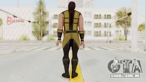 Mortal Kombat X Klassic Scorpion para GTA San Andreas terceira tela