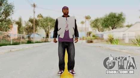 GTA 5 Ballas 2 para GTA San Andreas segunda tela