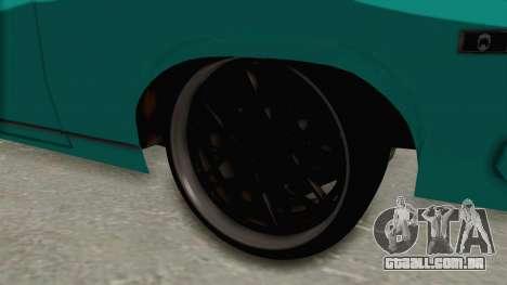 Chevy Nova 454 para GTA San Andreas vista traseira