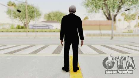 Batman Begins - Morgan Freeman para GTA San Andreas terceira tela