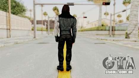 Captain America Civil War - Winter Soldier para GTA San Andreas terceira tela